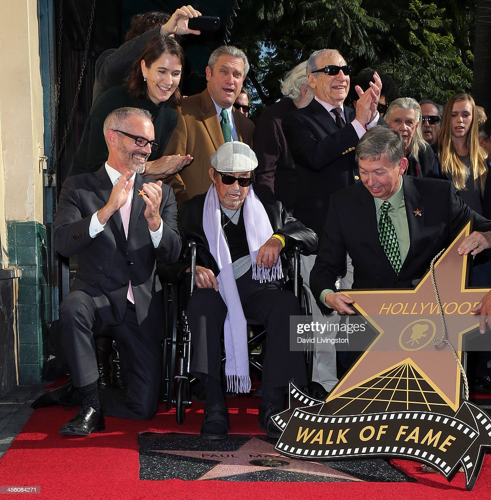 Los Angeles City Council member Mitch O'Farrell Chair of the Hollywood Chamber of Commerce Heather Cochran Chair of the Walk of Fame David Green...