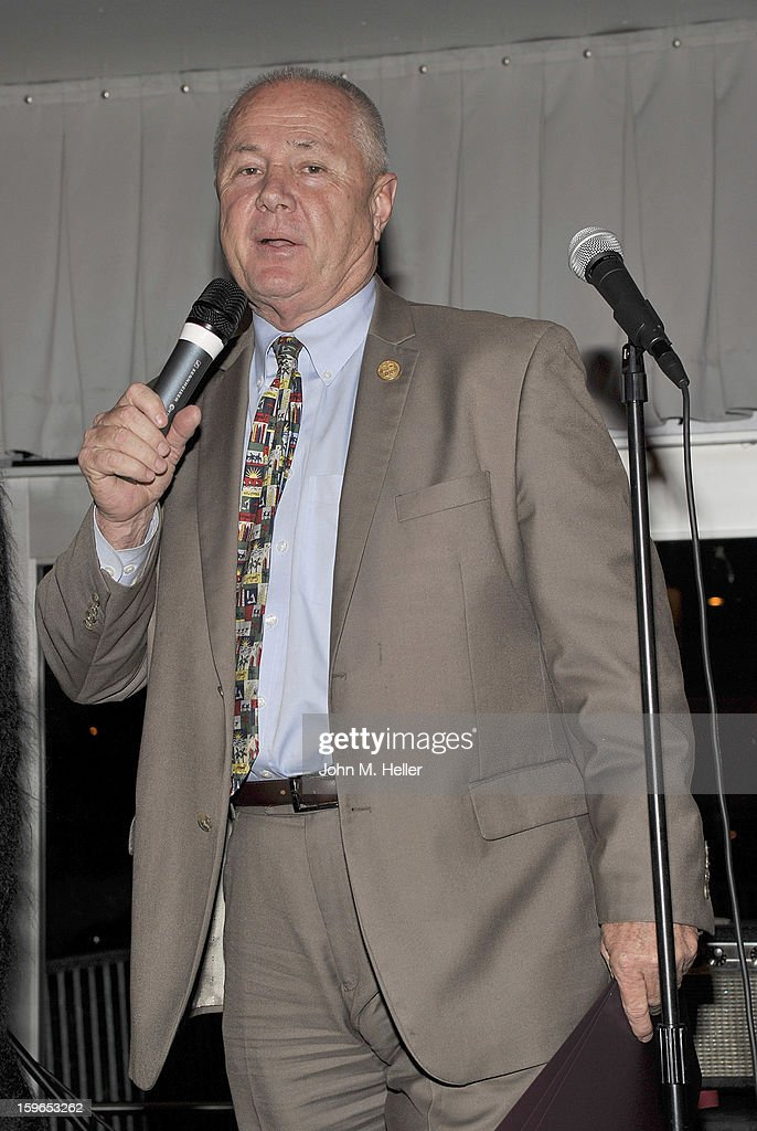 Los Angeles City Councilman from the 4th District <a gi-track='captionPersonalityLinkClicked' href=/galleries/search?phrase=Tom+LaBonge&family=editorial&specificpeople=220711 ng-click='$event.stopPropagation()'>Tom LaBonge</a> attends the Opening Reception For Photo