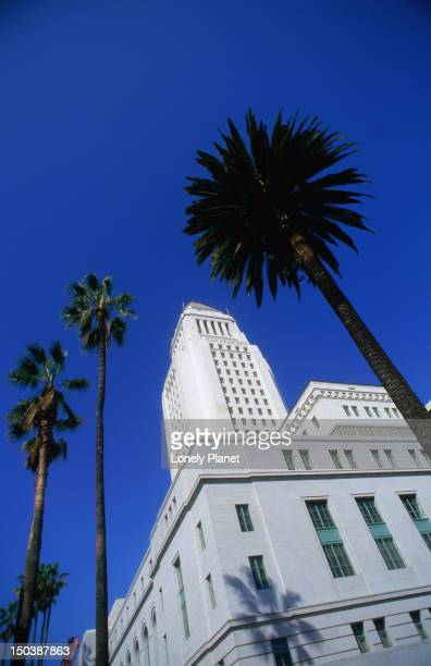 Los Angeles City Hall (1928) on North Spring Street.