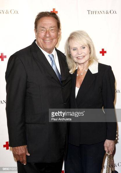 Los Angeles Clippers owner Donald Sterling arrives for the American Red Cross's 'An Evening Of Legendary Style' at Tiffany Co on May 6 2010 in...