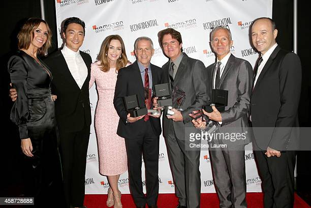 Los Angeles Confidential Publisher Alison Miller actor Daniel Henney actress Emily Blunt Honoree Marc Platt honoree Rob Marshallhonoree John DeLuca...