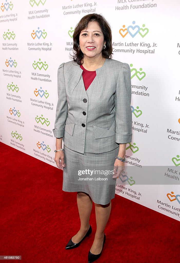 Los Angeles County Board of Supervisors Hilda Solis attends MLK 'Celebrating The Dream' luncheon at Dorothy Chandler Pavilion on January 15 2015 in...