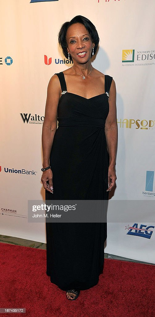 Los Angeles District Attorney Jackie Lacey attends the greater Los Angeles YWCA Rhapsody Ball at the Beverly Hills Hotel on November 8, 2013 in Beverly Hills, California.