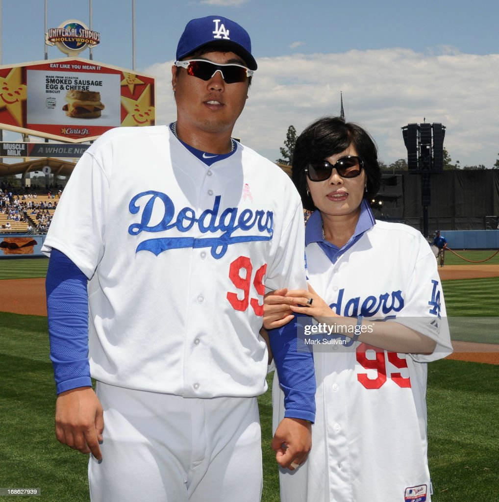 Mother's Day At Dodger Stadium