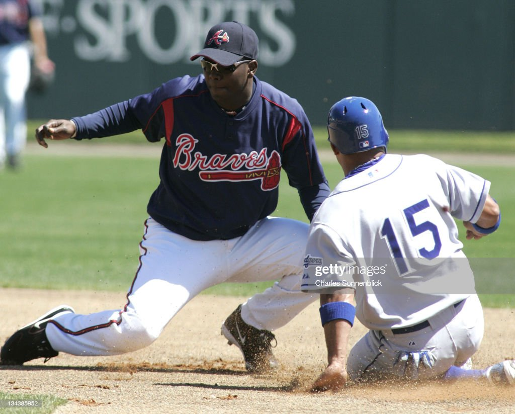 Atlanta Braves vs Los Angeles Dodgers - Spring Training - March 15, 2006