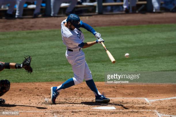 Los Angeles Dodgers left fielder Chris Taylor during the MLB regular season game between the San Francisco Giants and the Los Angeles Dodgers at...