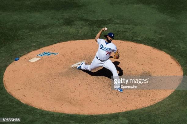 Los Angeles Dodgers relief pitcher Kenley Jansen during the MLB regular season game between the San Francisco Giants and the Los Angeles Dodgers at...