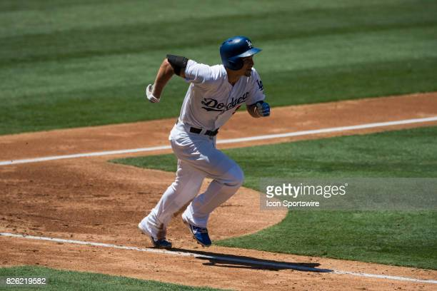 Los Angeles Dodgers shortstop Corey Seager during the MLB regular season game between the San Francisco Giants and the Los Angeles Dodgers at Dodger...