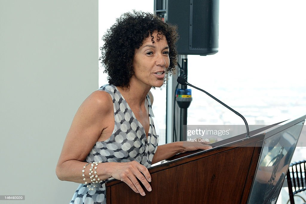Los Angeles Film Festival Director <a gi-track='captionPersonalityLinkClicked' href=/galleries/search?phrase=Stephanie+Allain&family=editorial&specificpeople=2079610 ng-click='$event.stopPropagation()'>Stephanie Allain</a> attends the Woman of Animation Lunch during the 2012 Los Angeles Film Festival at Ritz Carlton on June 17, 2012 in Los Angeles, California.
