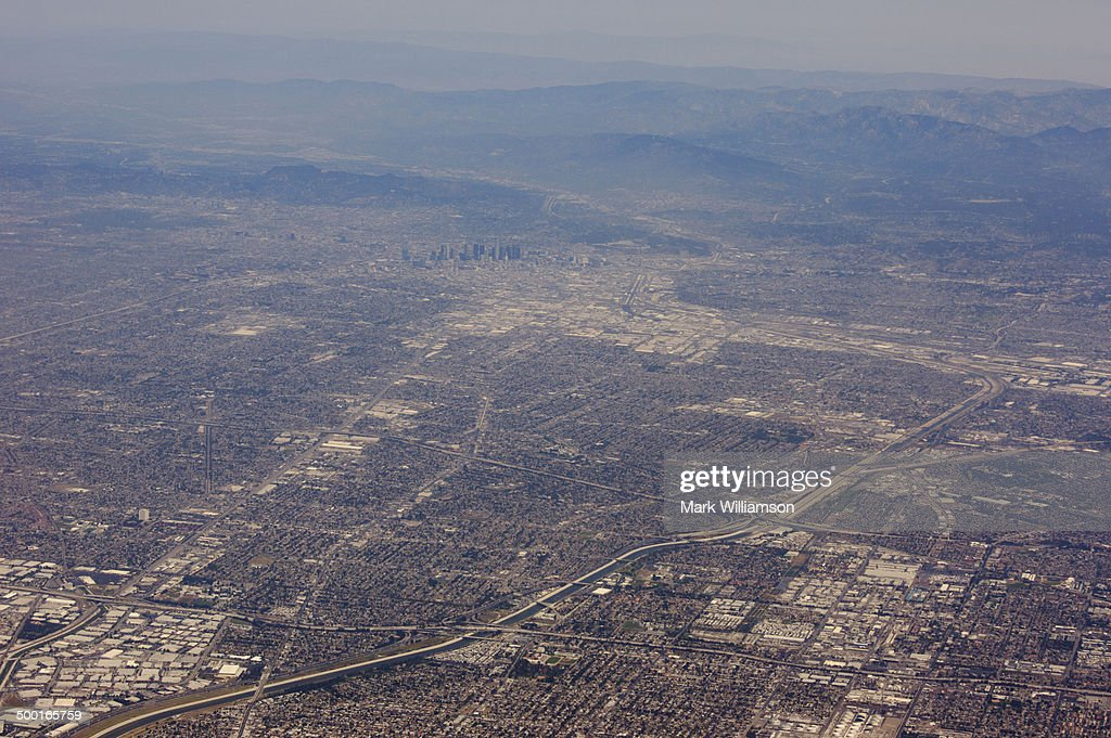 Los Angeles from the air.