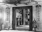 USA Los Angeles Hollywood Studios Interior view of 'Grauman's Chinese Theatre' Los Angeles' premieres theater on Hollywood Boulevard undated probably...