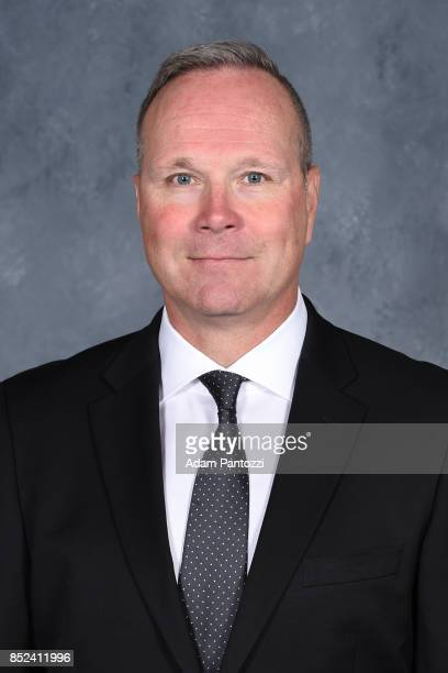 Los Angeles Kings Assistant Coach Dave Lowry poses for his official headshot for the 20172018 season on August 16 2017 at the Toyota Sports Center in...