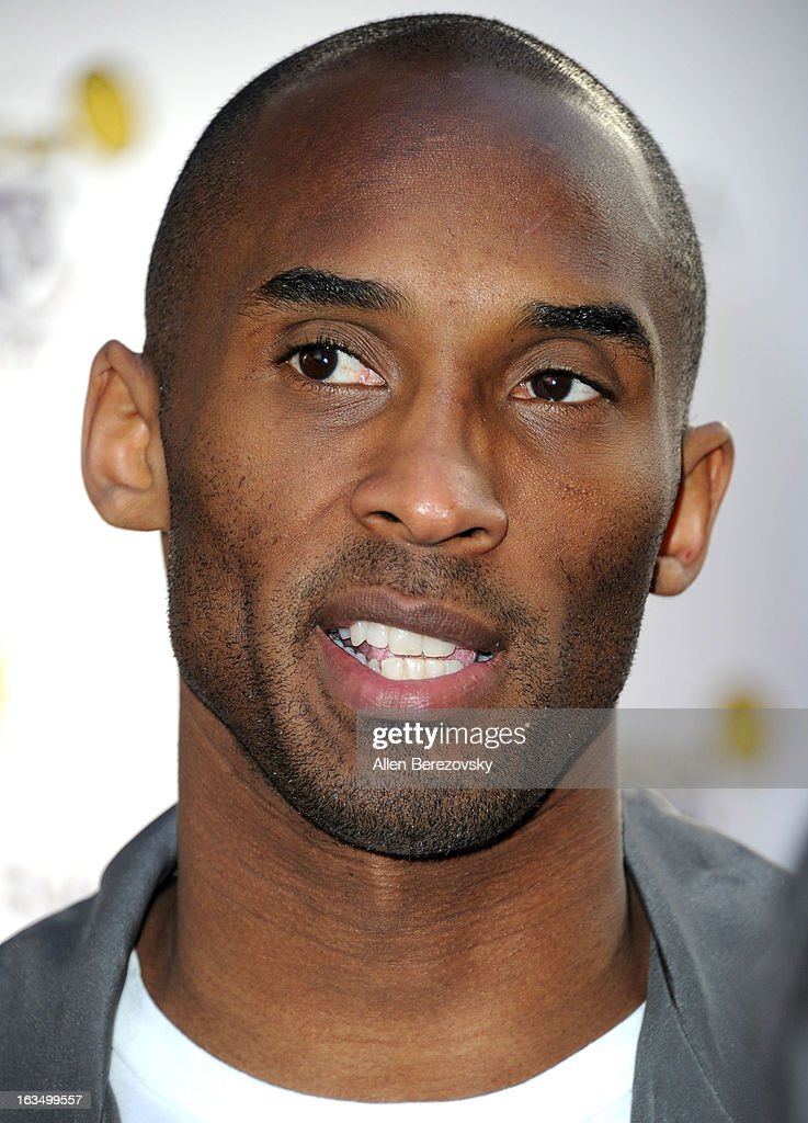 Los Angeles Laker <a gi-track='captionPersonalityLinkClicked' href=/galleries/search?phrase=Kobe+Bryant&family=editorial&specificpeople=201466 ng-click='$event.stopPropagation()'>Kobe Bryant</a> attends the Lakers Casino Night fundraiser benefiting the Lakers Youth Foundation at Club Nokia on March 10, 2013 in Los Angeles, California.