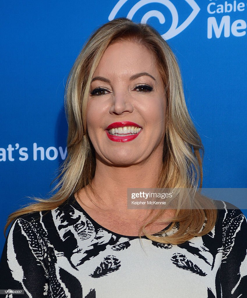 Los Angeles Lakers Executive VP of business operations Jeanie Buss attends Time Warner Cable Media (TWC Media) 'View From The Top' Upfront at Vibiana on June 19, 2013 in Los Angeles, California.