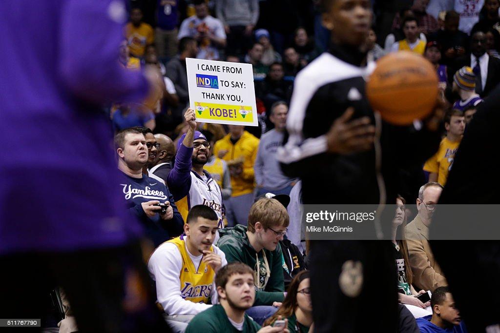 Los Angeles Lakers v Milwaukee...
