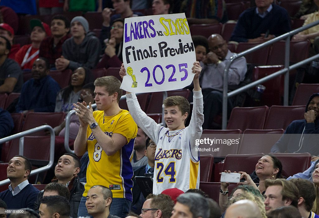 Los Angeles Lakers v Philadelphia 76ers | Getty Images