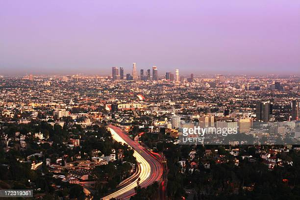 Los Angeles Long Exposure at Dusk