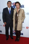 Los Angeles Mayor Antonio Villaraigosa and Jacqueline Bisset arrives at the 2010 Champagne Launch Of BritWeek at the Consul General's Residence on...