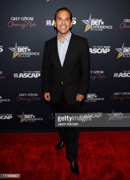 Los Angeles mayor Antonio Villaraigosa arrives at the Grey Goose Cherry Noir Flavored Vodka VIP after party during the 2013 BET Experience at The...