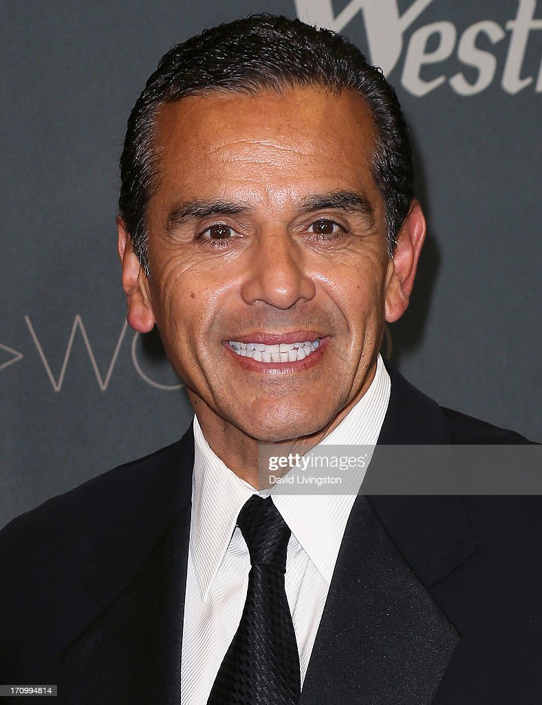 Los Angeles Mayor <a gi-track='captionPersonalityLinkClicked' href=/galleries/search?phrase=Antonio+Villaraigosa&family=editorial&specificpeople=178925 ng-click='$event.stopPropagation()'>Antonio Villaraigosa</a> attends the grand opening of the new Tom Bradley International Terminal at LAX Airport presented by Los Angeles World Airports (LAWA) and Westfield on June 20, 2013 in Los Angeles, California.