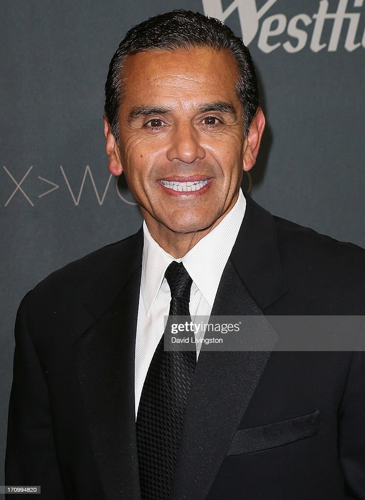 Los Angeles Mayor Antonio Villaraigosa attends the grand opening of the new Tom Bradley International Terminal at LAX Airport presented by Los Angeles World Airports (LAWA) and Westfield on June 20, 2013 in Los Angeles, California.