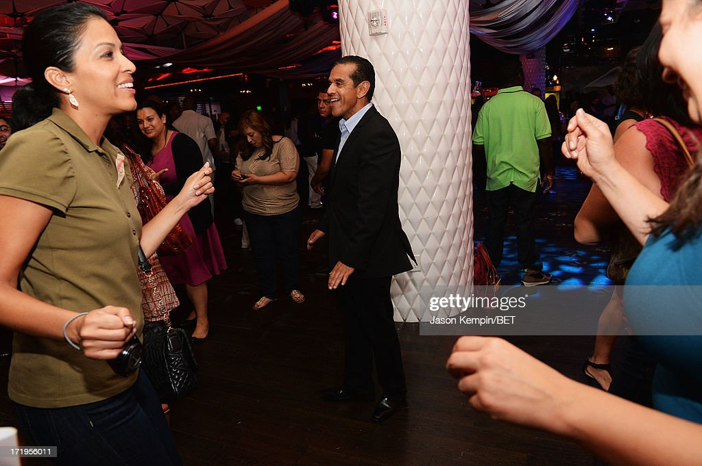 Los Angeles Mayor Antonio Villaraigosa attends the Grey Goose Cherry Noir Flavored Vodka VIP after party day 1 at The Conga Room at L.A. Live on June 28, 2013 in Los Angeles, California.