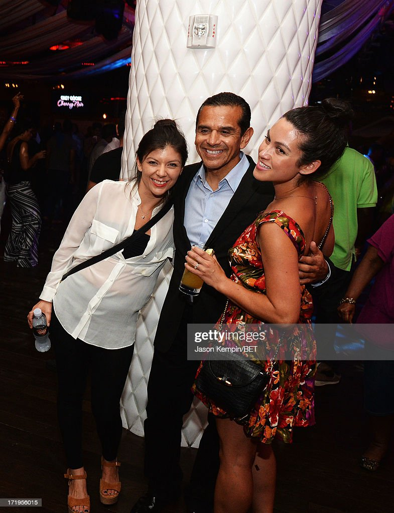 Los Angeles Mayor <a gi-track='captionPersonalityLinkClicked' href=/galleries/search?phrase=Antonio+Villaraigosa&family=editorial&specificpeople=178925 ng-click='$event.stopPropagation()'>Antonio Villaraigosa</a> attends the Grey Goose Cherry Noir Flavored Vodka VIP after party day 1 at The Conga Room at L.A. Live on June 28, 2013 in Los Angeles, California.