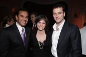 Los Angeles Mayor Antonio Villaraigosa Sally Field and Matthew Rhys at the Peace Over Violence Annual Humanitarian Awards Dinner at the Beverly Hills...