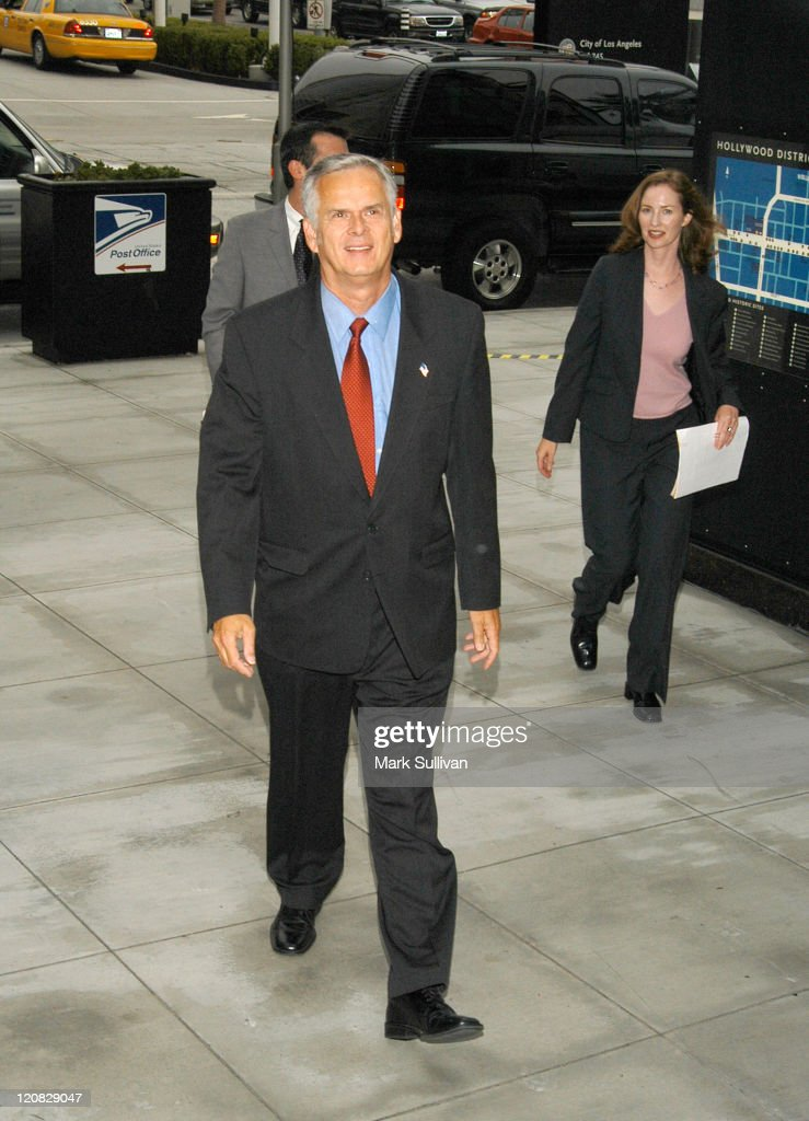 Los Angeles Mayor <a gi-track='captionPersonalityLinkClicked' href=/galleries/search?phrase=James+Hahn&family=editorial&specificpeople=209338 ng-click='$event.stopPropagation()'>James Hahn</a> during Hollywood & Highland Welcomes On-Air with Ryan Seacrest at Hollywood & Highland in Hollywood, California, United States.