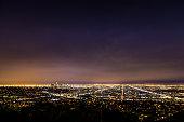Los Angeles night skyline