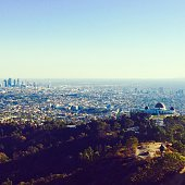Griffith observatory park