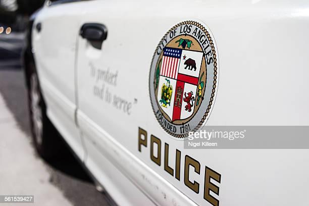 Los Angeles police car