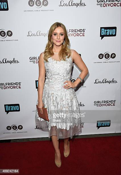 GIRLFRIENDS' GUIDE TO DIVORCE Los Angeles Premiere Party at 'Theater at The ACE Hotel' on Tuesday November 18 2014 Pictured Julianna Guill...