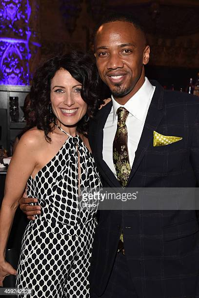 DIVORCE Los Angeles Premiere Party at 'Theater at The ACE Hotel' on Tuesday November 18 2014 Pictured Lisa Edelstein J August Richards 'Girlfriends'...