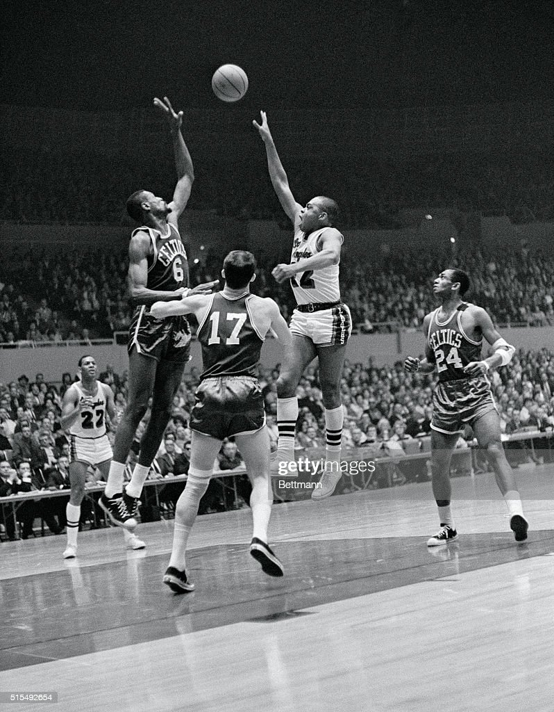 Walt Hazzard Shooting the Ball