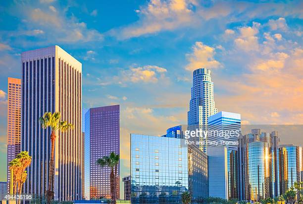 Los Angeles skyline, CA