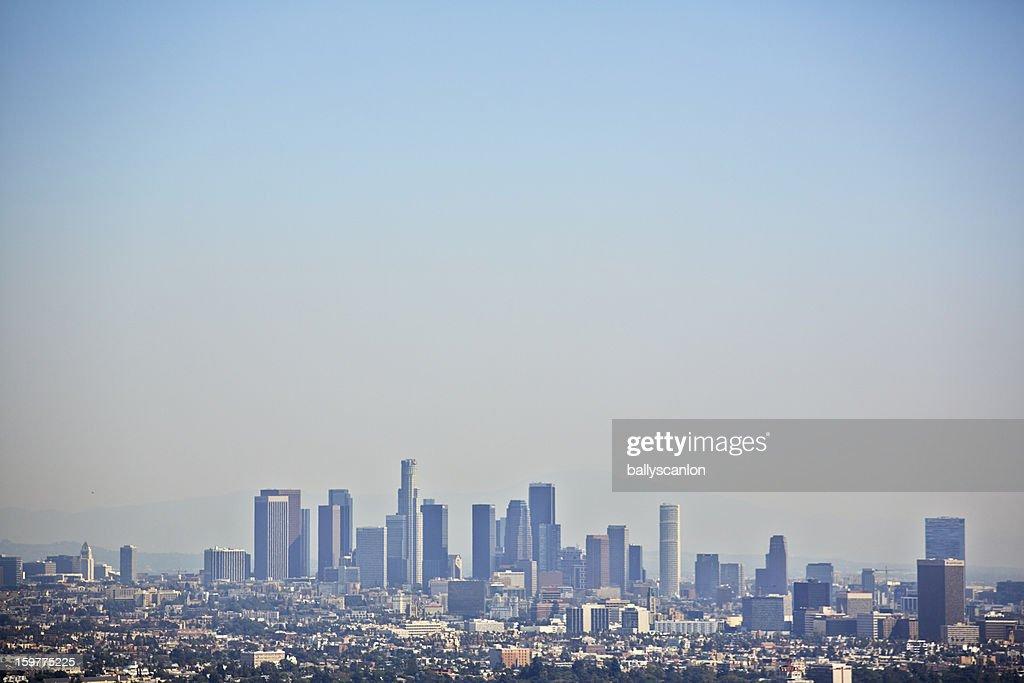Los Angeles skyline : Stock Photo