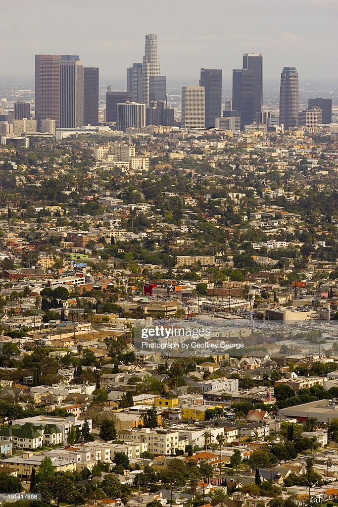 Los angeles sprawl : Stock Photo