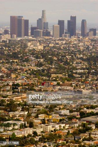 Los angeles sprawl : Stock Photo