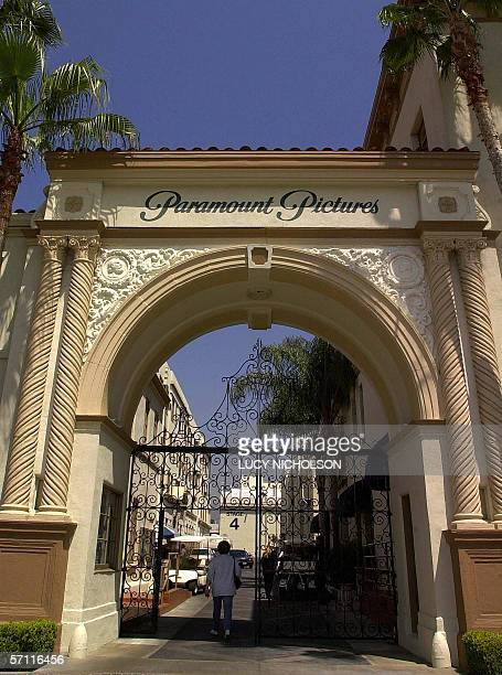 In this 17 April file photo a worker enters Paramount Pictures Studio in Hollywood Los Angeles California Paramount Pictures announced 17 Marchplans...