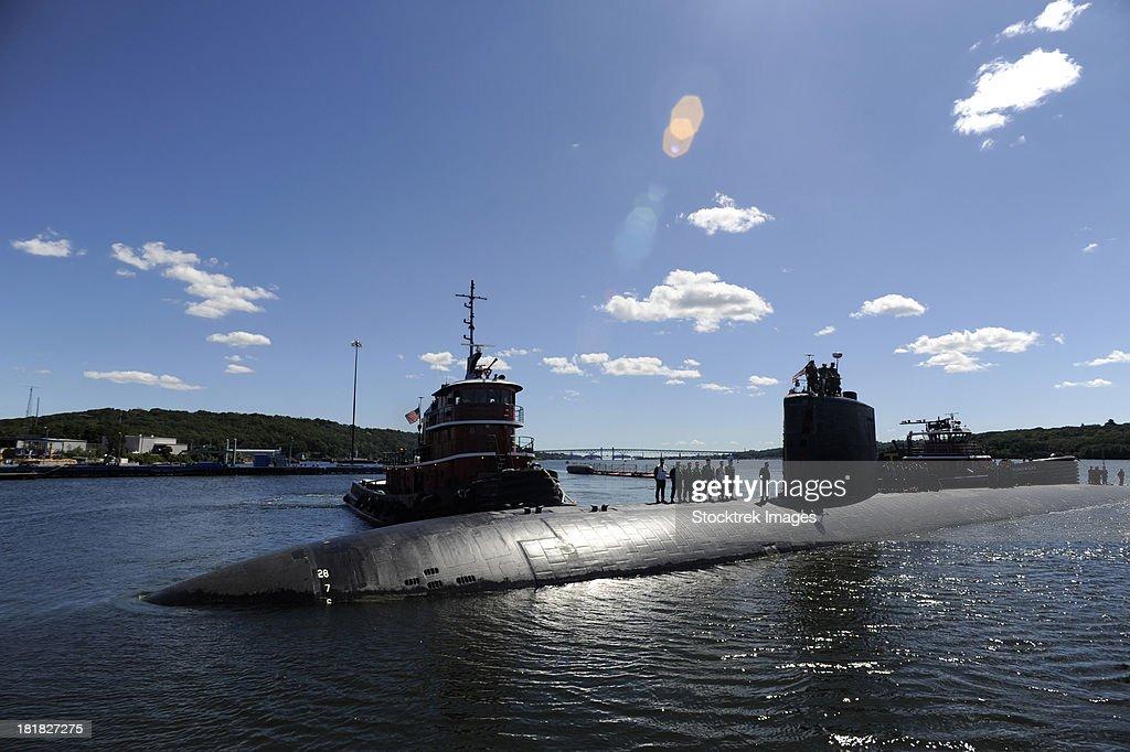 Los Angeles-class submarine USS Annapolis.