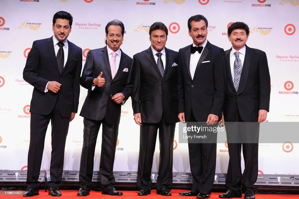 Los Tigres Del Norte attend the 26th Annual Hispanic Heritage Awards presented by Target at the John F. Kennedy Center for the Performing Arts on September 5, 2013 in Washington, DC.