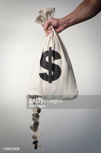 Losing money : ストックフォト