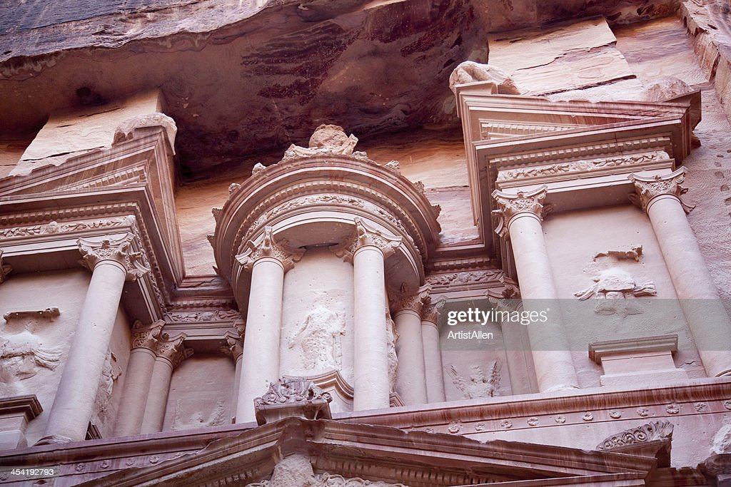 Lost City of Petra, Jordan : Stock Photo