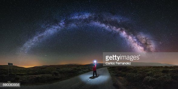 Lost highway : Stock Photo
