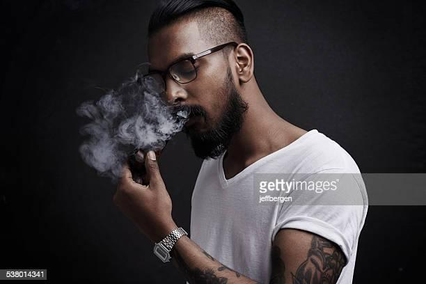 Perdu dans un monde de fumée