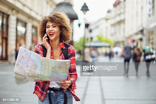 Lost in the city : Stock Photo