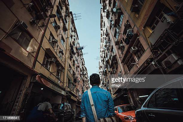 Lost in the overcrowded city
