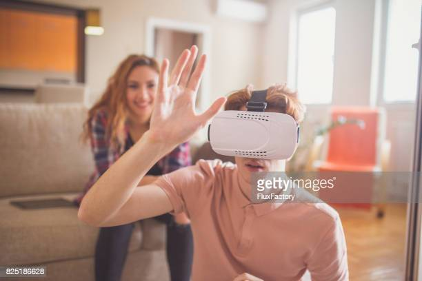 Lost in the world of virtual reality