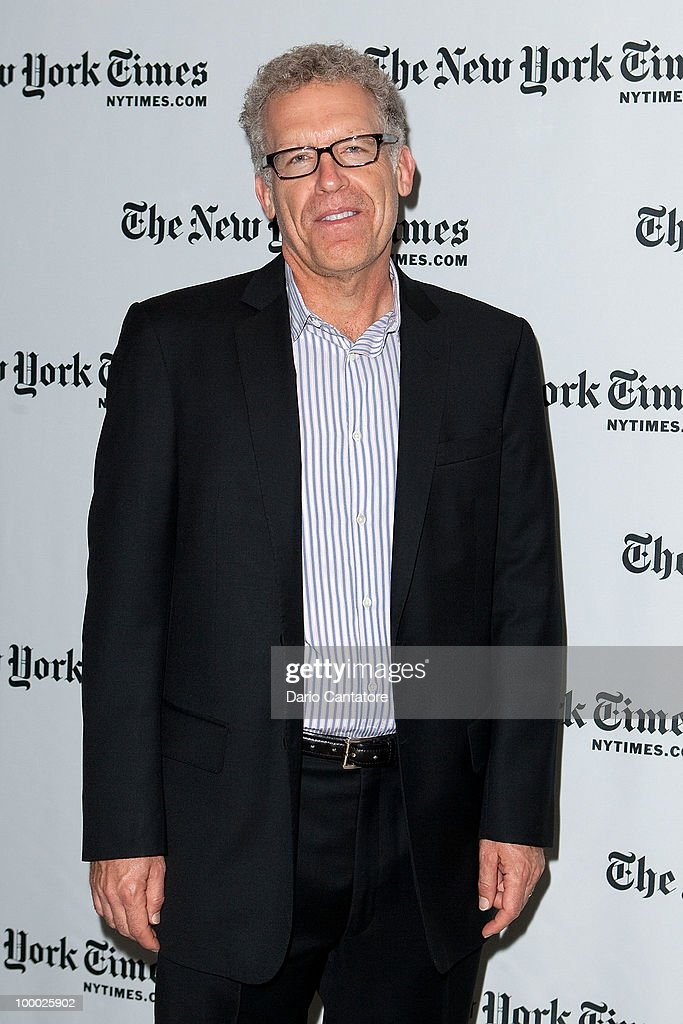 'Lost' producer Carlton Cuse attends The New York Times' TimesTalk with the creators of ABC's 'Lost' at TheTimesCenter on May 20, 2010 in New York City.